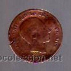 Monedas de España: 5 CÉNTIMOS (COBRE) 1877 ALFONSO XII.. Lote 12357145