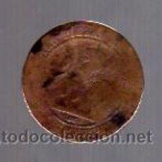 Monedas de España: 10 CÉNTIMOS (COBRE) 1870 BARCELONA OM (GOBIERNO PROVISIONAL).. Lote 12372604
