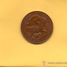 Monedas de España: UNION CATALANISTA. UNIO CATALANISTA. 5 CÉNTIMOS. -SC. VALLMITJANA. 1900. CATALUNYA.. Lote 27369449