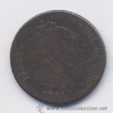 Monedas de España: ISABEL II- 8 MARAVEDIS- 1835- SEGOVIA- VALOR EN EL REVERSO. Lote 13045664
