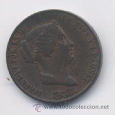 Monedas de España: ISABEL II- 25 CENTIMOS DE REAL- 1856- SEGOVIA. Lote 13045696