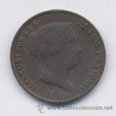 Monedas de España: ISABEL II- 25 CENTIMOS DE REAL- 1860- SEGOVIA. Lote 13045741