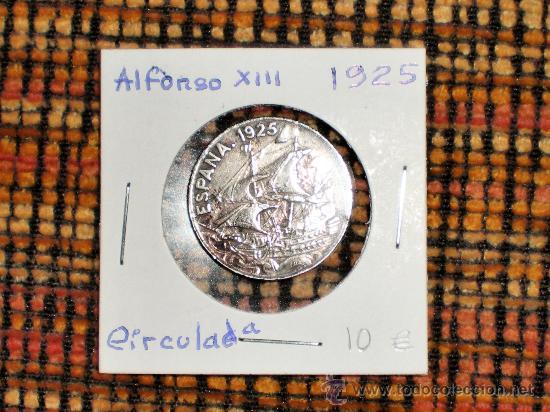 25 CENTIMOS ALFONSO XIII 1925 (Numismática - España Modernas y Contemporáneas - De Isabel II (1.834) a Alfonso XIII (1.931))