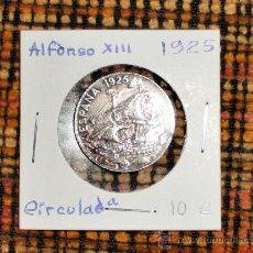 Monedas de España: 25 CENTIMOS ALFONSO XIII 1925. Lote 17004615