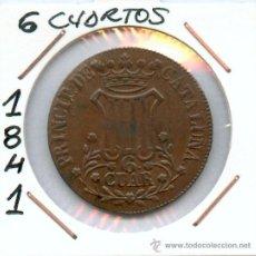 Monedas de España: ISABEL II. 6 CUARTOS AÑO 1841. Lote 26968350