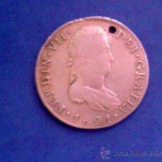 Monedas de España: GUATEMALA........8 REALES.......FERNANDO VII.......1821. Lote 13956275