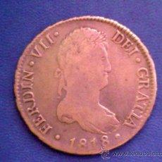 Monedas de España: MADRID........8 REALES...........FERNANDO VII.........1818. Lote 13956281