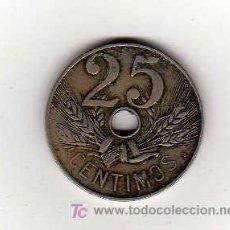 Monedas de España: MONEDA DE 25 CENTIMOS - ESPAÑA 1927. Lote 15154305