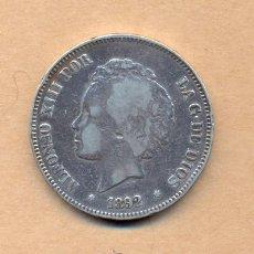 Monedas de España: N11 - ALFONSO XIII - 5 PESETAS 1892 (18) ( ) MADRID PGM M.B.C. - 5 PESETAS 1892 (18) ( ) M.B.C.. Lote 24895151