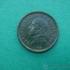 Monedas de España: ALFONSO XIII, 2-CTMOS, 1912. Lote 15289243
