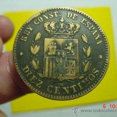 Monedas de España: 1846 ALFONSO XII MONEDA 10 CENTIMOS AÑO 1878 BONITA MIRA MAS EN MI TIENDA C&C. Lote 15745779