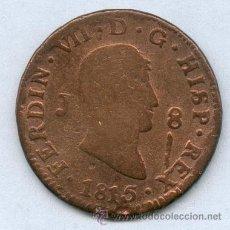 Monedas de España: 8 MARAVEDIES DE FERNANDO VII AÑO 1815. Lote 26379718