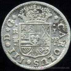 Monedas de España: CARLOS III : 1 REAL 1760 MADRID (PLATA). Lote 25558260