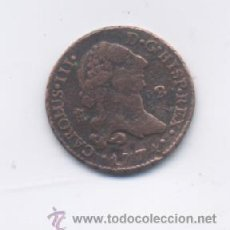 Monedas de España: CARLOS III- 2 MARAQVEDIS-1774-SEGOVIA. Lote 17348625