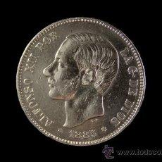Monedas de España: MONEDA 5 PESETAS DE PLATA DE ALFONSO XII MADRID 1885 * 18-87. Lote 26833642
