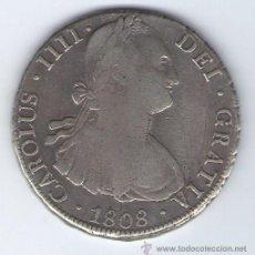 Monedas de España: CARLOS IIII - AÑO 1808 - 8 REALES - PJ POTOSI - PLATA - CARLOS IV - MONEDA ESPAÑA. Lote 25821404