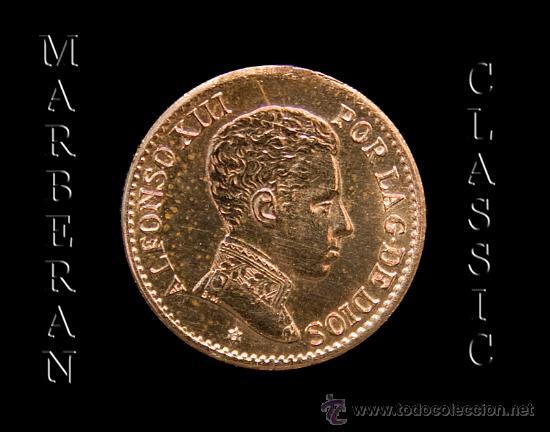 MONEDA 1 CENTIMO DE COBRE DE ALFONSO XIII 1906 * 6 (Numismática - España Modernas y Contemporáneas - De Isabel II (1.834) a Alfonso XIII (1.931))