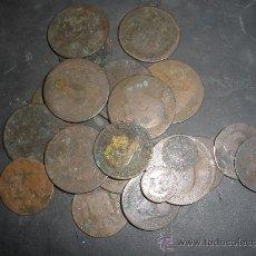 Monedas de España: LOTE MONEDAS ALFONSO XII Y REPUBLICA PROVISIONAL. Lote 27135046