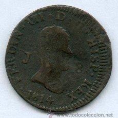 Monedas de España: 8 MARAVEDIES DE FERNANDO VII. AÑO 1814. OJEA EL RESTO DE MIS ARTICULOS Y AHORRA EN GASTOS DE ENVIO. Lote 26673753