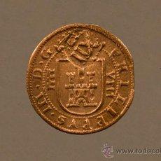 Monedas de España: MONEDA 8 MARAVEDÍS DE COBRE DE FELIPE III 1617 RESELLADOS A 12 MARAVEDÍS. Lote 27177701