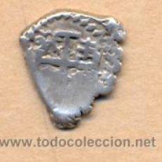 Monedas de España: MONEDA 215 - FELIPE V - 1/2 REAL - LIMA - 1701 - 1747 - FORMA CORAZÓN - 2 GRS - M.B.C. - PLATA. Lote 27079372