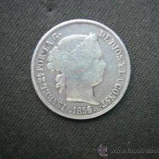 Monedas de España: 4 REALES - ÉPOCA DE ISABEL II - AÑO 1859 - RESELLO SOBRESALIENTE. Lote 22707214