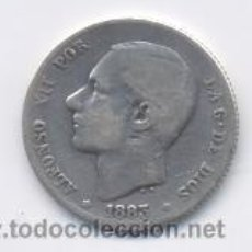 Monedas de España: ALFONSO XII- 1 PESETA- 1883-MSM. Lote 22709462