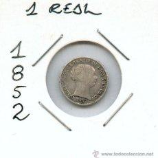 Monedas de España: 1 REAL DE ISABEL II. MONEDA DE PLATA. AÑO 1852. Lote 27106100