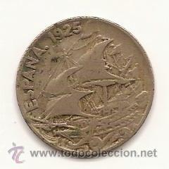 25 CENTIMOS--1925--ALFONSO XIII (Numismática - España Modernas y Contemporáneas - De Isabel II (1.834) a Alfonso XIII (1.931))