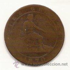 Monedas de España: 10 CENTIMOS-GOBIERNO PROVISIONAL-1870. Lote 26475359