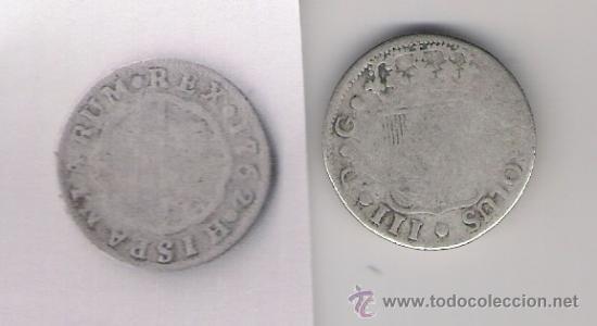 CARLOS III 1762 2 REALES (Numismática - España Modernas y Contemporáneas - De Reyes Católicos (1.474) a Fernando VII (1.833))