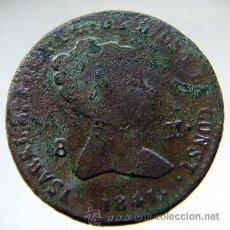 Monedas de España: ISABEL II 8 MARAVEDIS1841. Lote 27123738