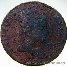 Monedas de España: ISABEL II 8 MARAVEDIS1843. Lote 27183420