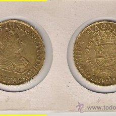 Monedas de España: 091-FERNANDO VI. 8 ESCUDOS. LIMA. 1759. JM. ORO. MBC+. Lote 26199460