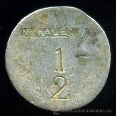 Monedas de España: RARA ACUÑACION REALISTA DE FERNANDO VII DE 1/2 REAL DE PLATA POR CLASIFICAR (MAYARI - CUBA ?). Lote 26303061