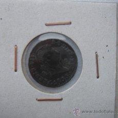 Monedas de España: DOS MARAVEDÍES DE FERNANDO VII -FERDÍN VII- DE 1827 CON DEFECTO DE ACUÑACIÓN. IDEAL COLECCIONISTAS.. Lote 26306554