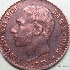 Monedas de España: ALFONS XII - 50 CENTIMOS 1885 *8-6 MUY DIFICIL ASÍ. Lote 26951855