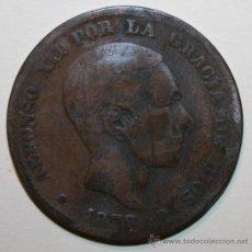 Monedas de España: MONEDA 10 CÉNTIMOS ALFONSO XII 1878. Lote 28107317