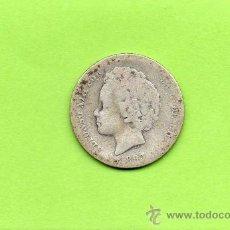Monedas de España: MONEDA 1 PESETA. AÑO 1893. PGL. ALFONSO XIII. ESPAÑA. PLATA.. Lote 28249411