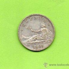 Monedas de España: MONEDA 2 PESETAS. AÑO 1869. ESTRELLAS 18 69. SNM. GOBIERNO PROVISIONAL. PRECIOSA. ESPAÑA. PLATA.. Lote 28250384