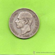 Monedas de España: MONEDA 5 PESETAS. AÑO 1885. ESTRELLAS 18 87. MSM. ALFONSO XII. ESPAÑA. PLATA.. Lote 28270495