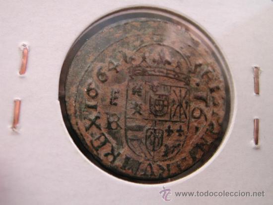 Monedas de España: FELIPE IV - 16 MARAVEDIS 1664 BR - SEGOVIA - BONITA - Foto 2 - 28382590
