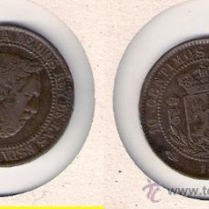 Monedas de España: C7-1-CARLOS VII. 10 CÉNTIMOS. BÉLGICA. 1875. COBRE. MBC.. Lote 28514924