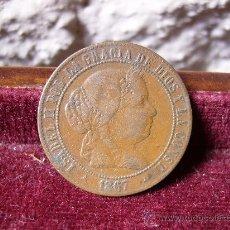 Monedas de España: ESPAÑA - 2 1/2 CÉNTIMOS DE ESCUDO OM SEGOVIA - ISABEL II. Lote 28659733