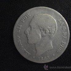 Monedas de España: 2 PESETAS ALFONSO XII 1883 - MONEDA DE PLATA. Lote 28720347