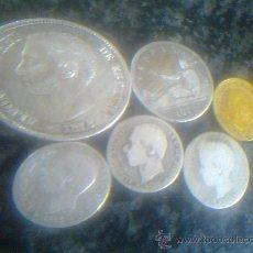 Monedas de España: LOTE DE MONEDAS ALFONSO XII. Lote 29304001