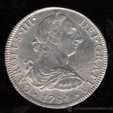 Monedas de España: MONEDA DE 8 REALES DE CARLOS III - 1784. MEXICO. F.M. Lote 29484493