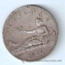 Monedas de España: 5 PESETAS 1870 GOBIERNO PROVISIONAL SNM ESTRELLAS 18-70. Lote 29530628