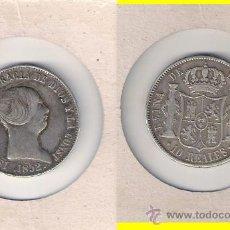 Monedas de España: ISA13-ISABEL 2ª. 10 REALES. MADRID. 1852. PLATA. MBC+. Lote 30871004
