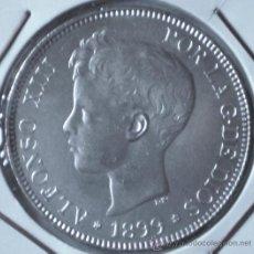 Monedas de España: ALFONSO XIII 5 PESETAS 1899*99 VER FOTOS. Lote 31290640